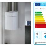 2 Etykieta efektywności energetycznej centrali Vaillant recoVAIR VAR 260/4 ze standardowym sterowaniem (A) i z czujnikiem zawartości CO2 w powietrzu (A+)